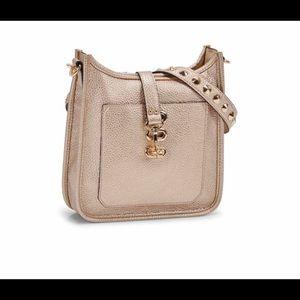 Steve Madden Gold Studded Crossbody Bag NWT